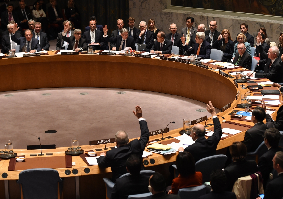 UN Security Council Syria resolution