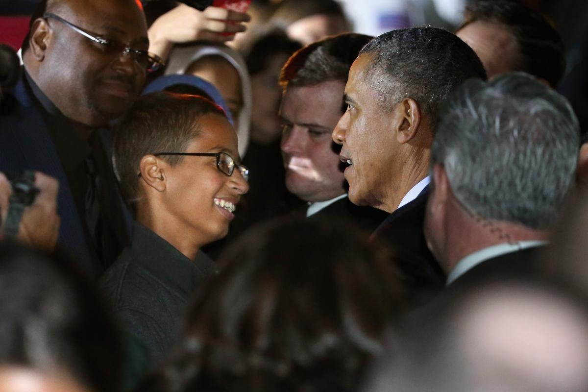 obama clock kid