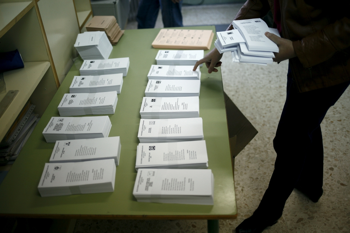 Spain parliamentary elections