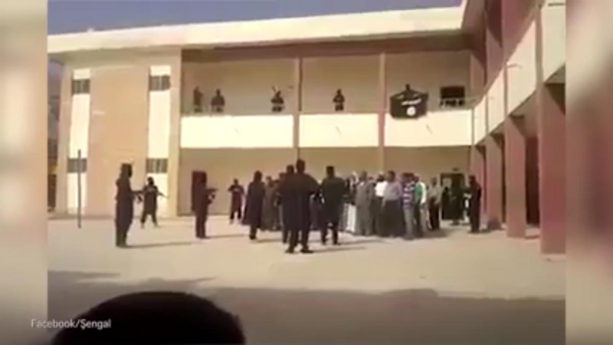 Yazidi sex slaves video