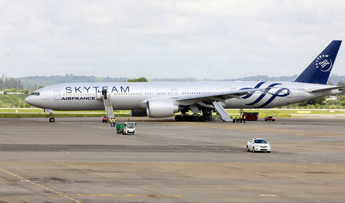 Air France bomb Kenya