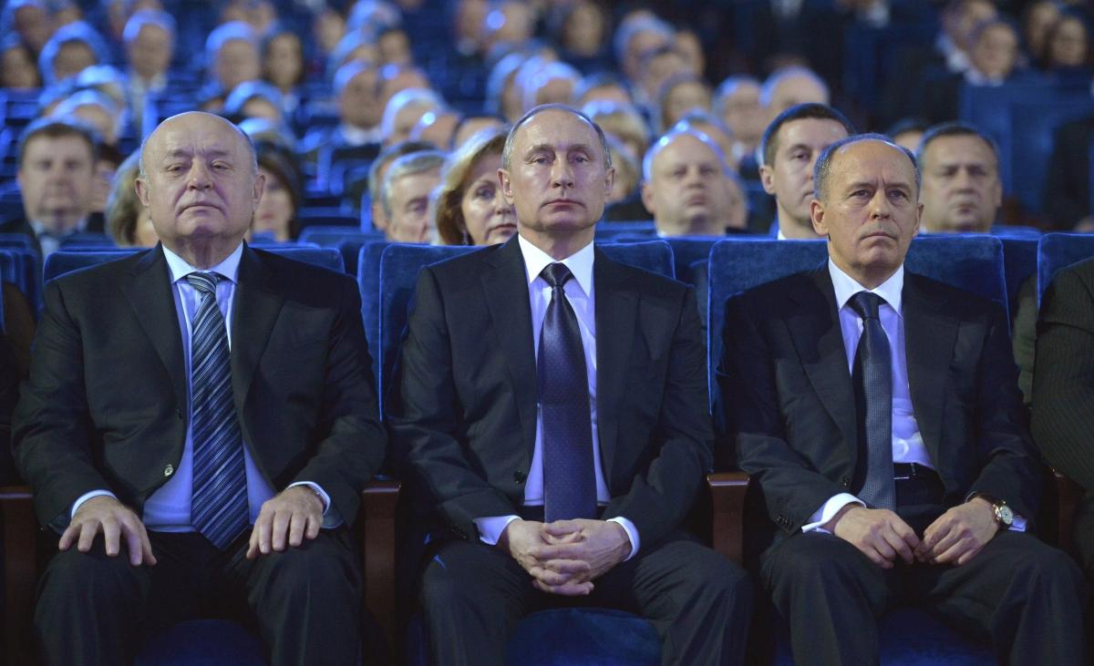 Spies day Putin