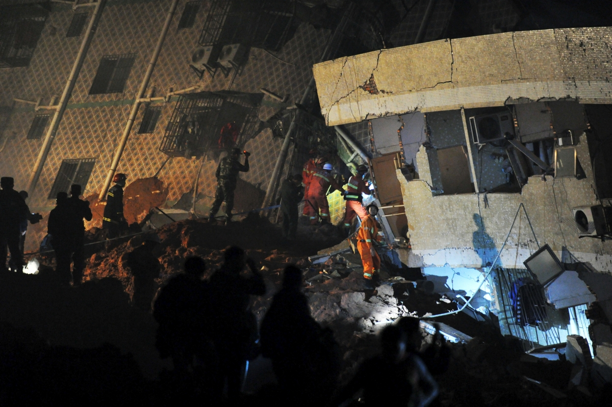 China Shenzhen landslide