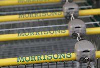 Morrisons sales edged up