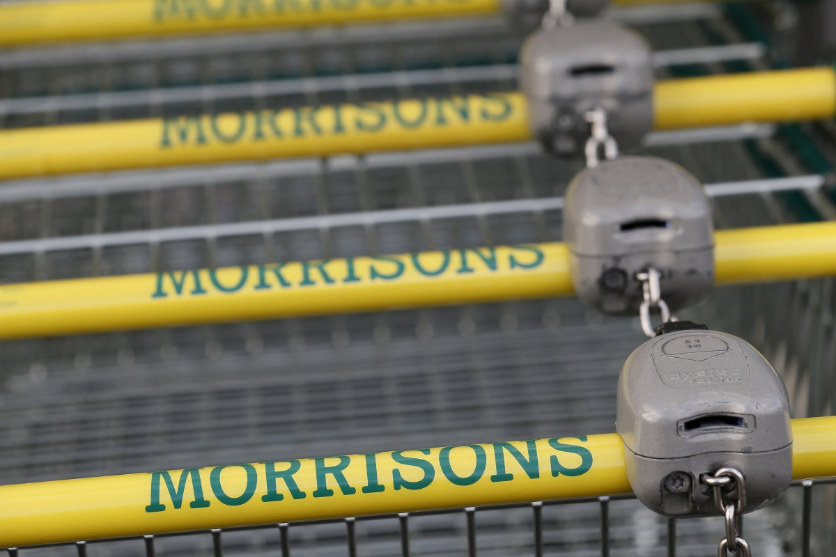 Morrisons sales edged up