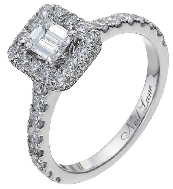 Winter alternative engagement rings