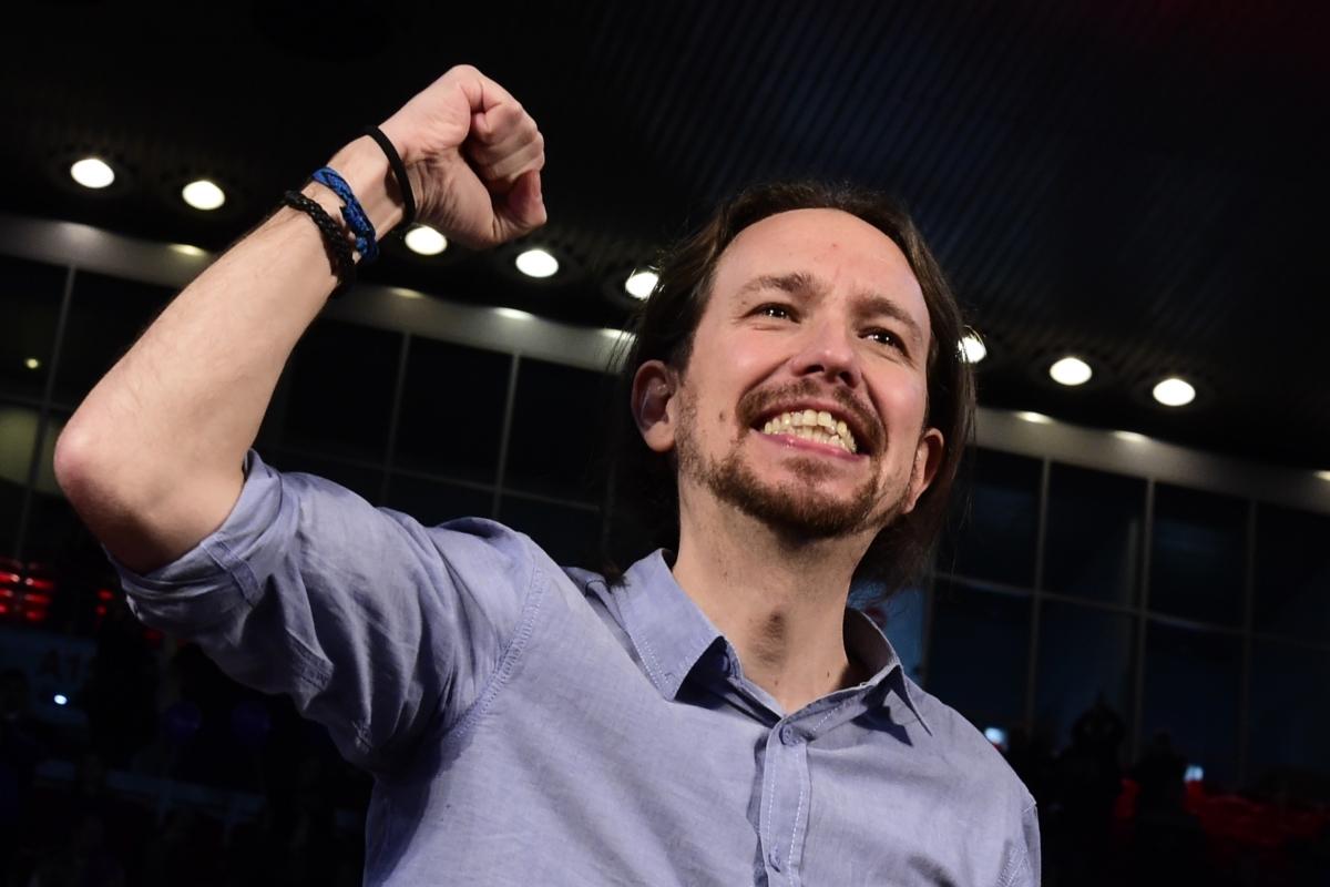 Pablo Iglesias Turrión Podemos Spain