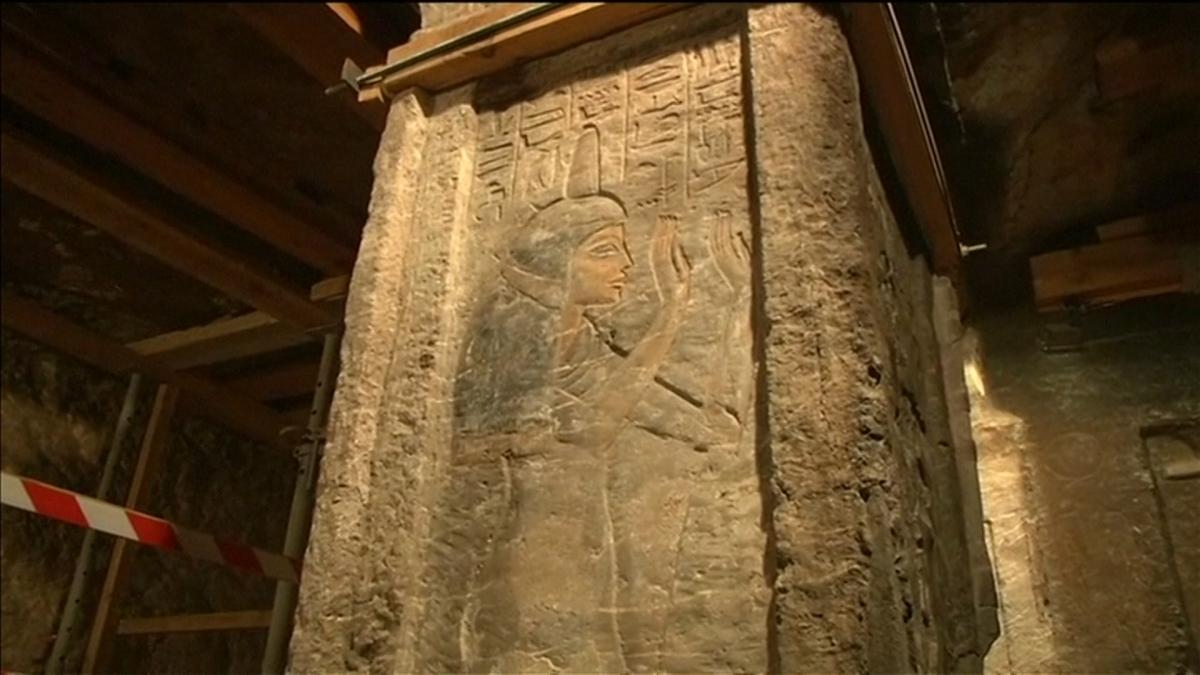 Tomb of Tutankhamun's nanny Maia