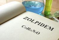 Zolpidem sleeping pill Ambien