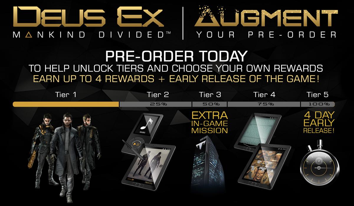 Deus Ex Augment Your Pre-Order