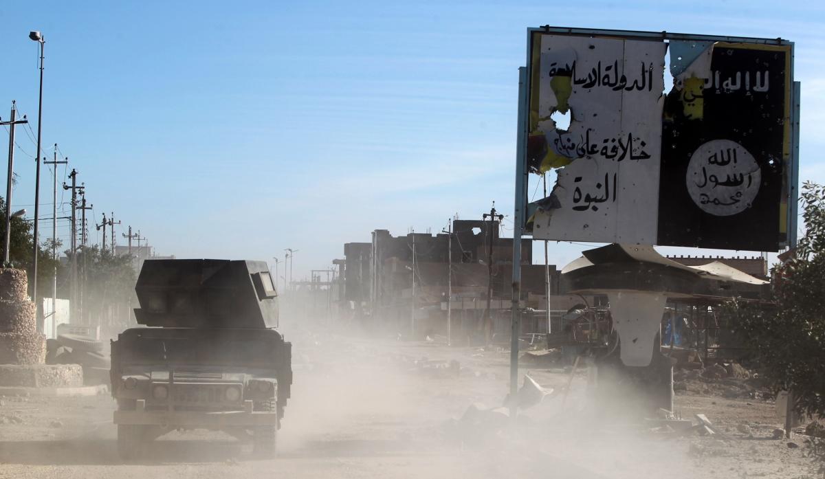 Ramadi Iraq offensive