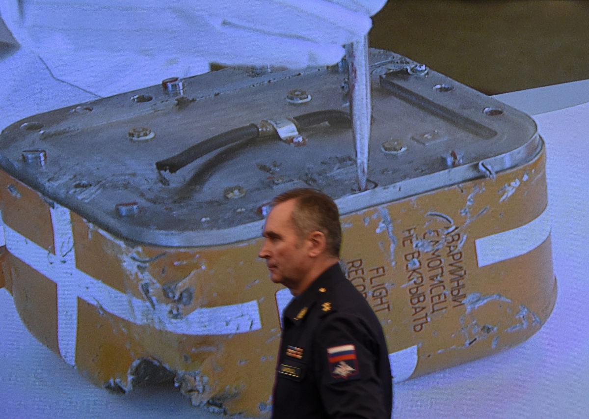 Flight recorder from the Russian Sukhoi Su-24