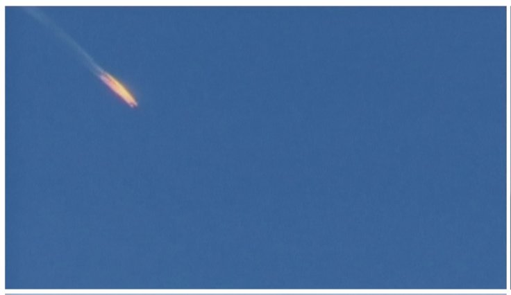 A war plane crashing