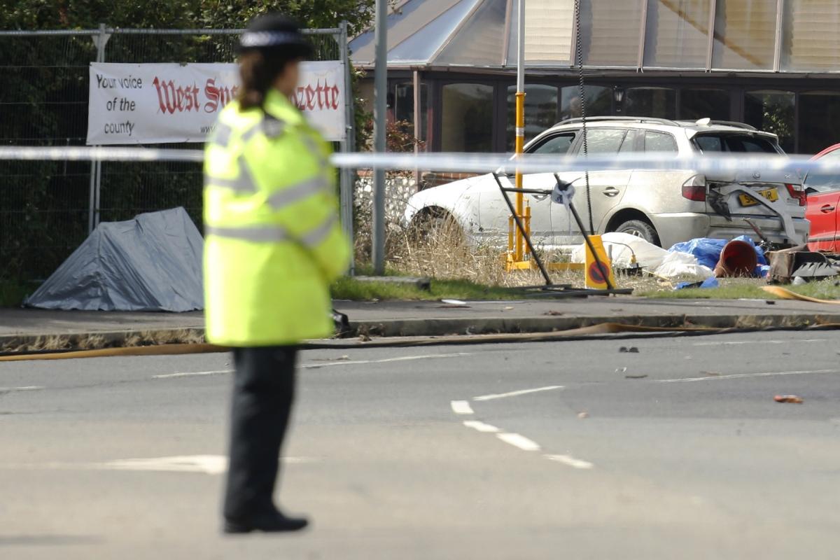 Shoreham airshow crash disaster
