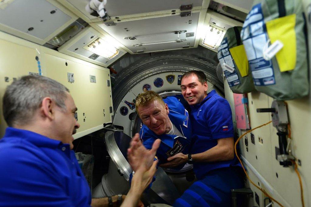 Tim Peake space ISS