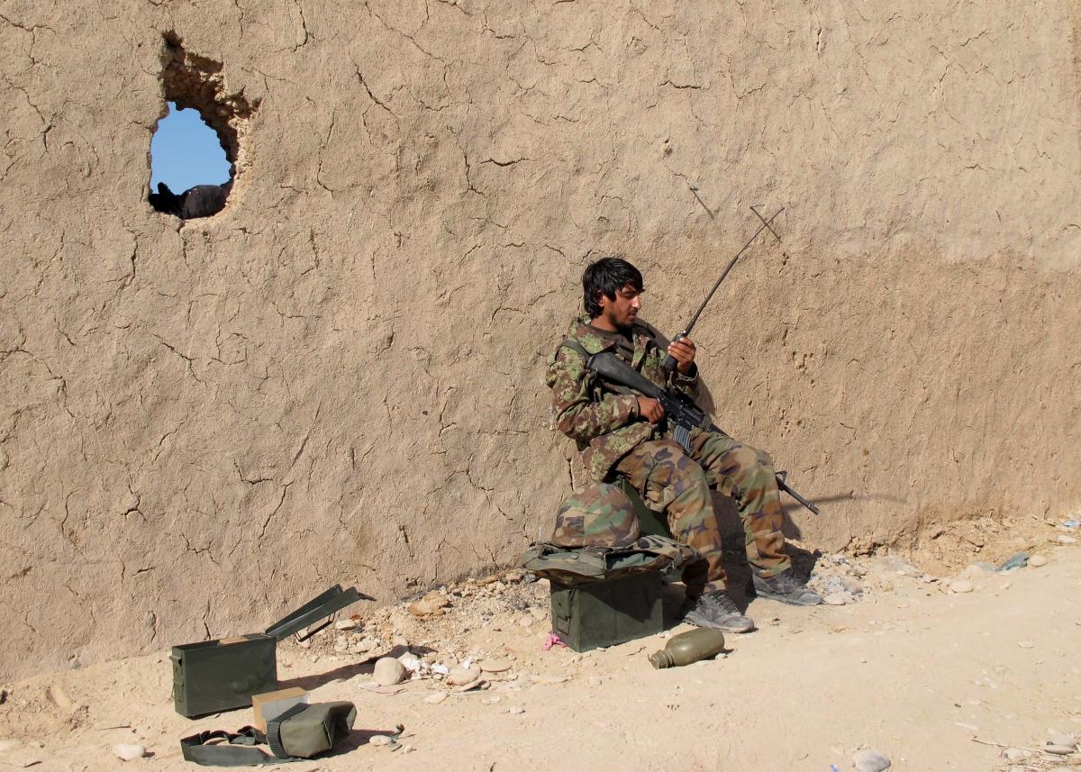 UK troops back in Helmand