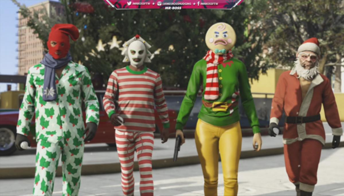 GTA 5 Online Christmas DLC: Secret features of Festive Surprise ...