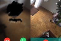 WhatsApp video chat feature
