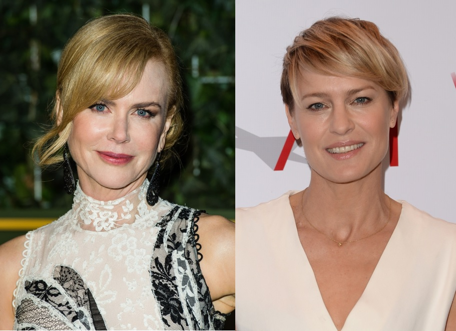 Nicole Kidman and Robin Wright