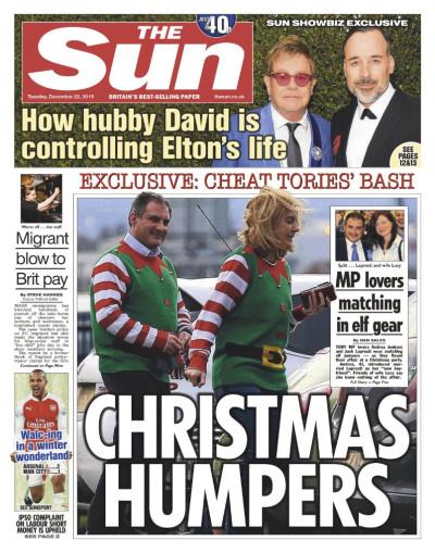 The Sun Corbyn IPSO cover 22 December