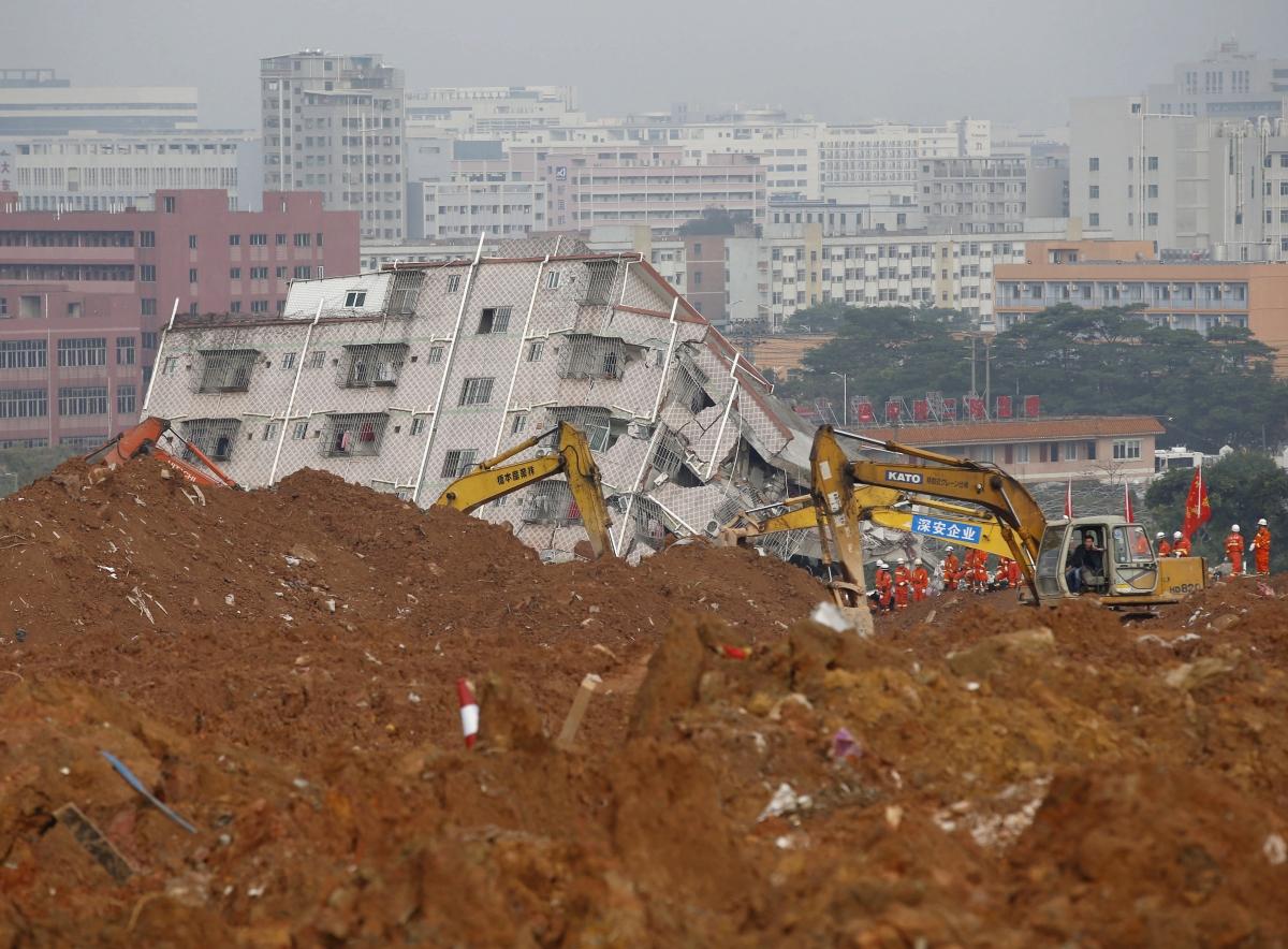 Shenzhen Landslide China