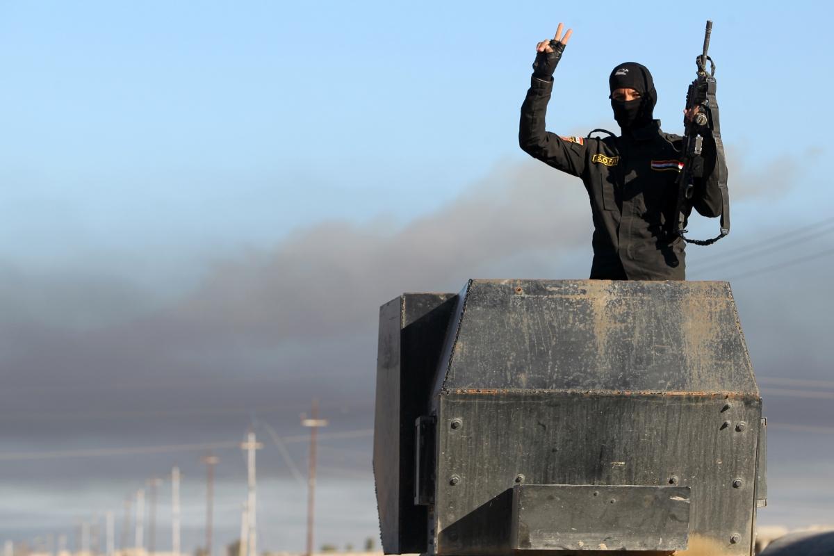 Iraqi anti-terror unit