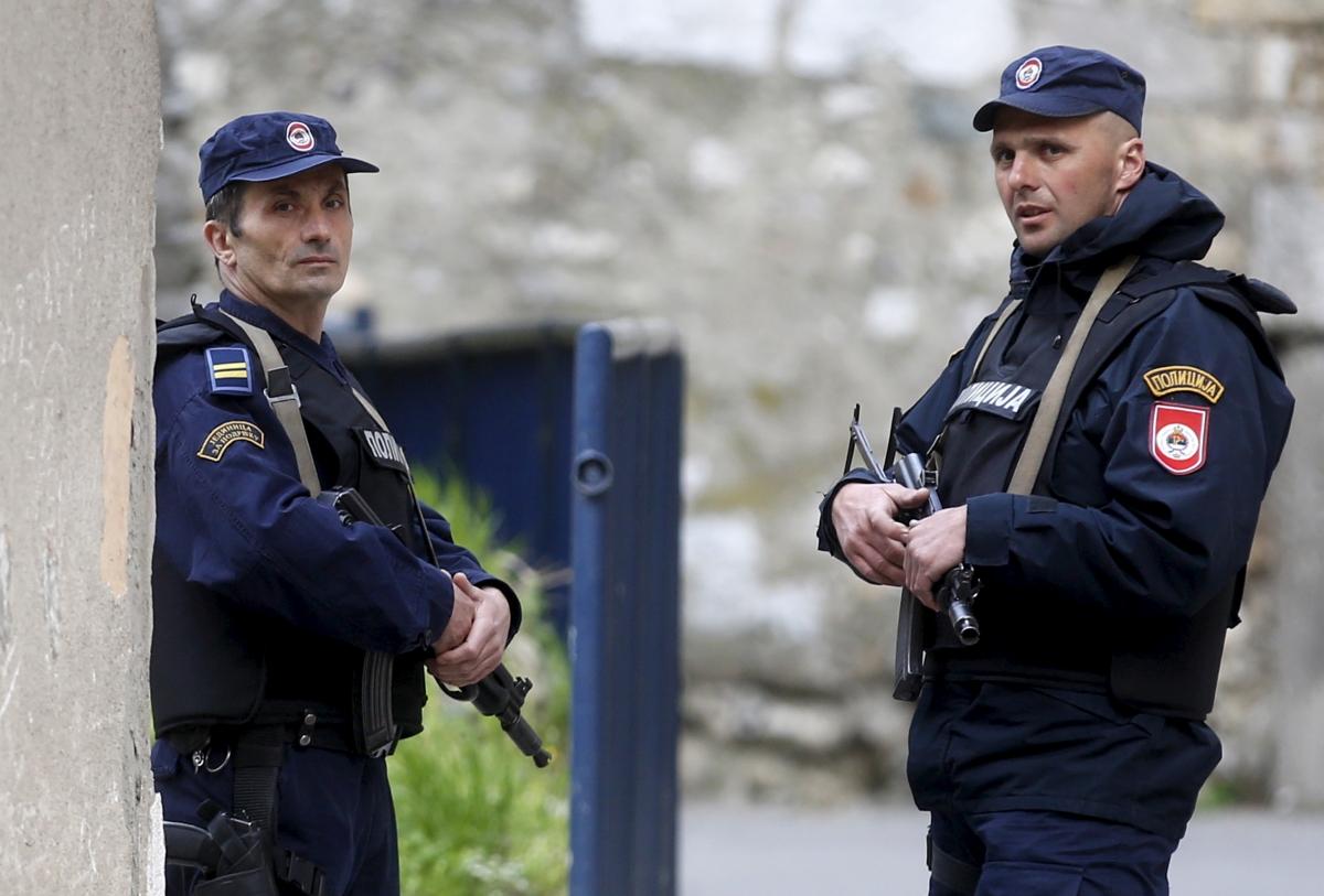 Police in Bosnia