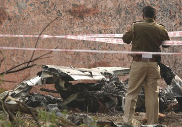 India BSF plane crash
