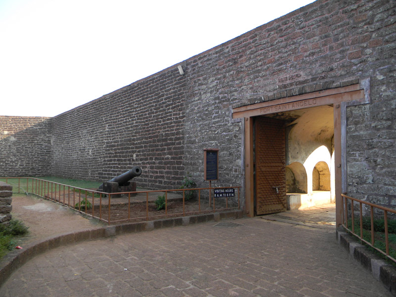 Fort St Angelo in India