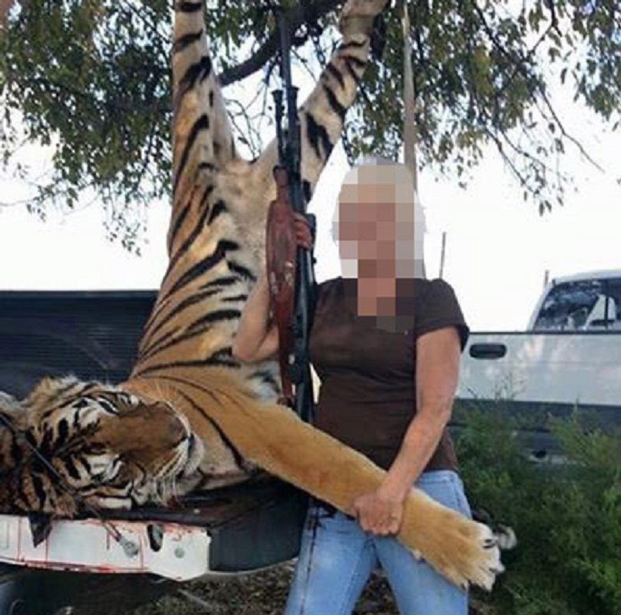 Anonymous expose alleged tiger killer