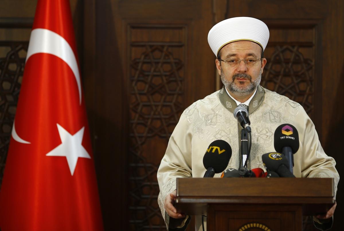 Mehmet Gormez isis Prophet Mohammed cartoons