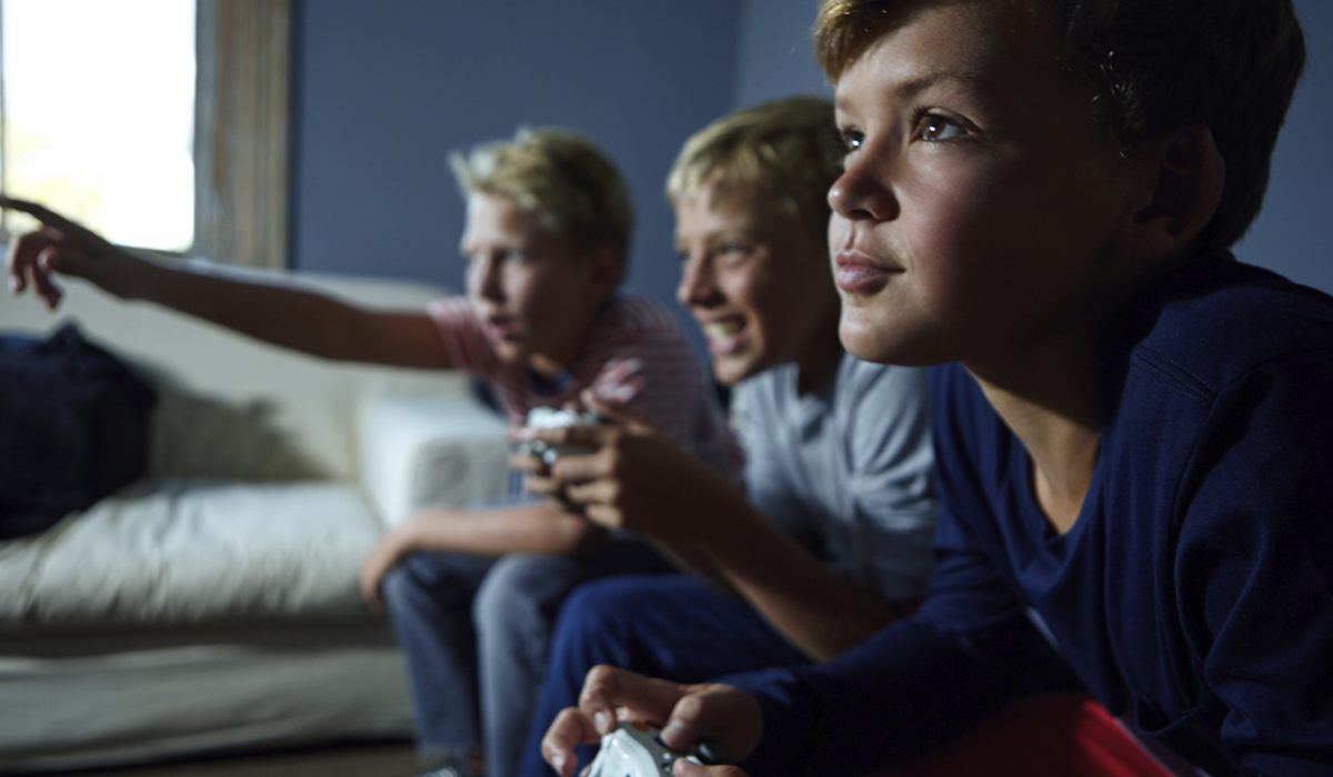 Gaming Playing Video Games