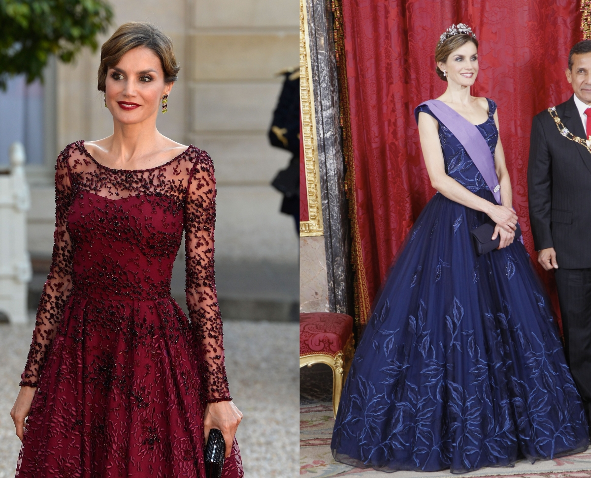 Queen Letizia's style in 2015