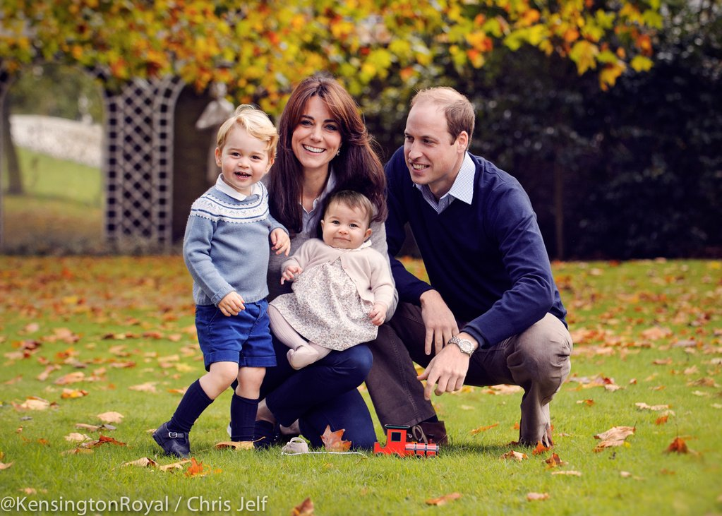 Prince William Kate Middleton George Charlotte