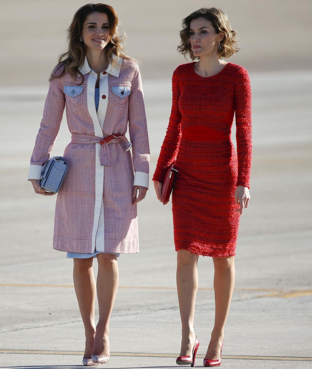Queen Rania of Jordan's style in 2015