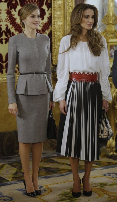 Queen Rania of Jordans style in 2015