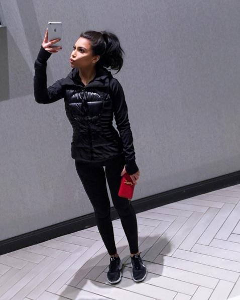 Kim Kardashian lookalike Kamilla Osman
