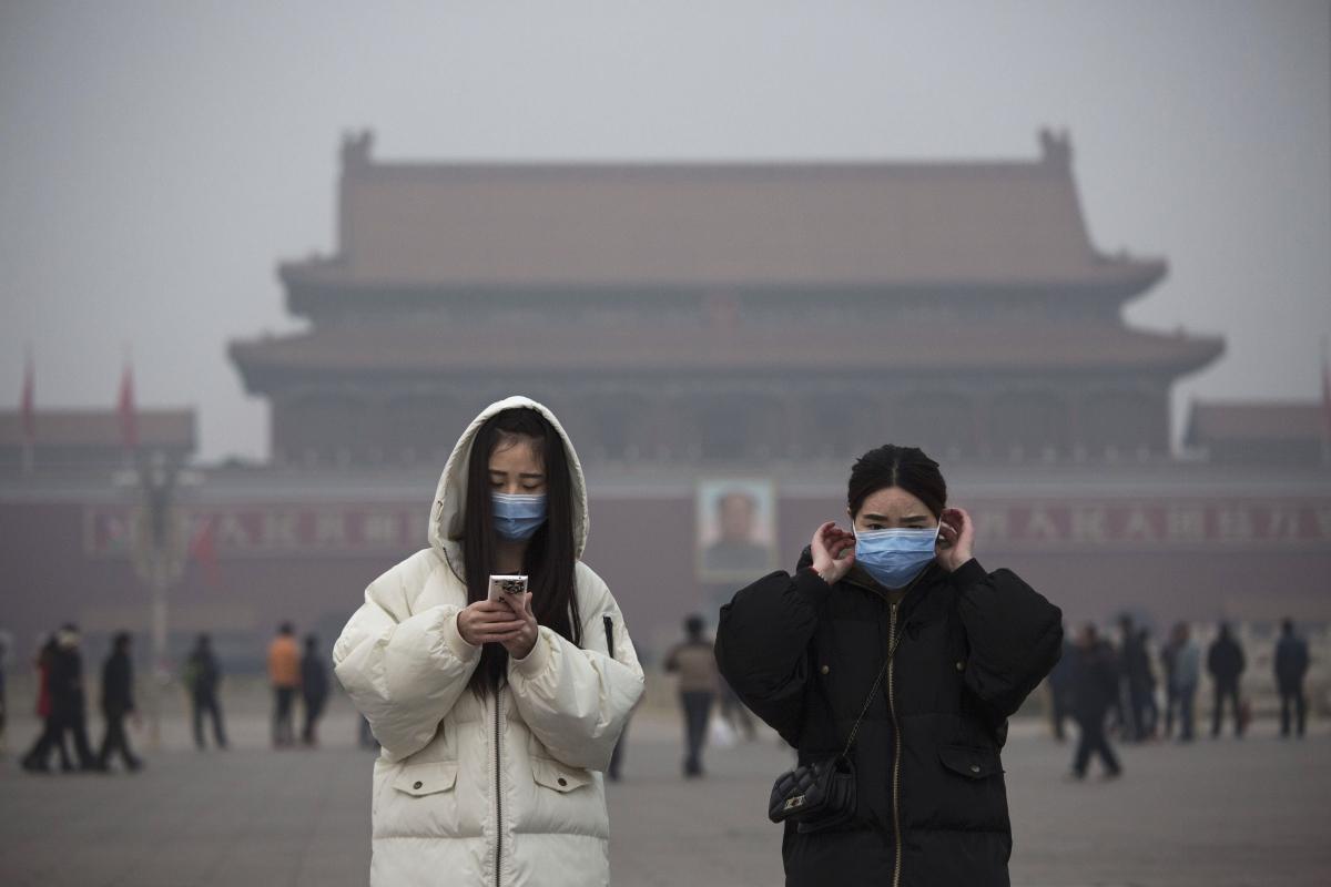 Smog alert China