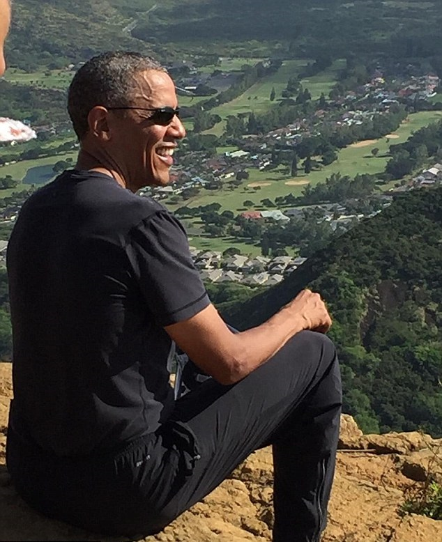 president obama surprises hikers during mountain trek in