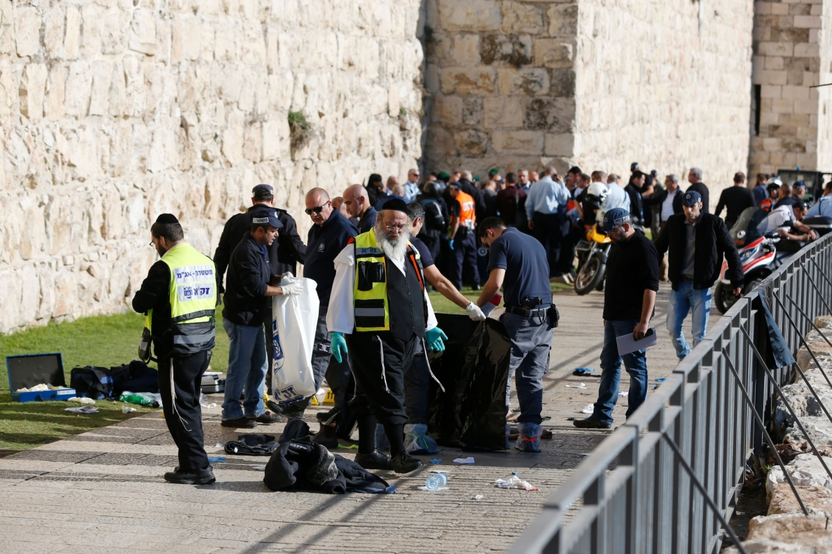Two Israelis dead