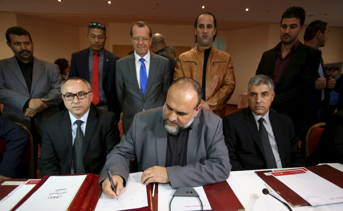 Libya new government