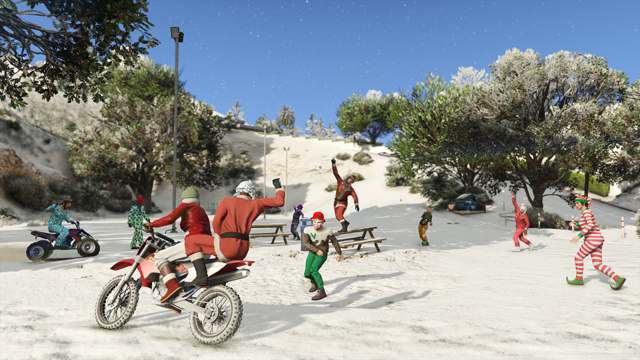 GTA 5 Online: Festive Surprise DLC