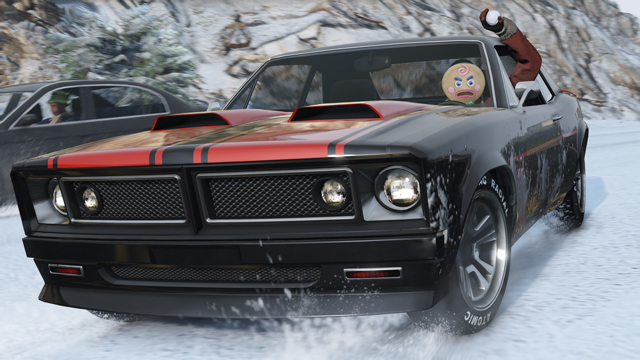 Gta Festive Surprise Dlc Bonus Brings Declasse Tampa Muscle Car