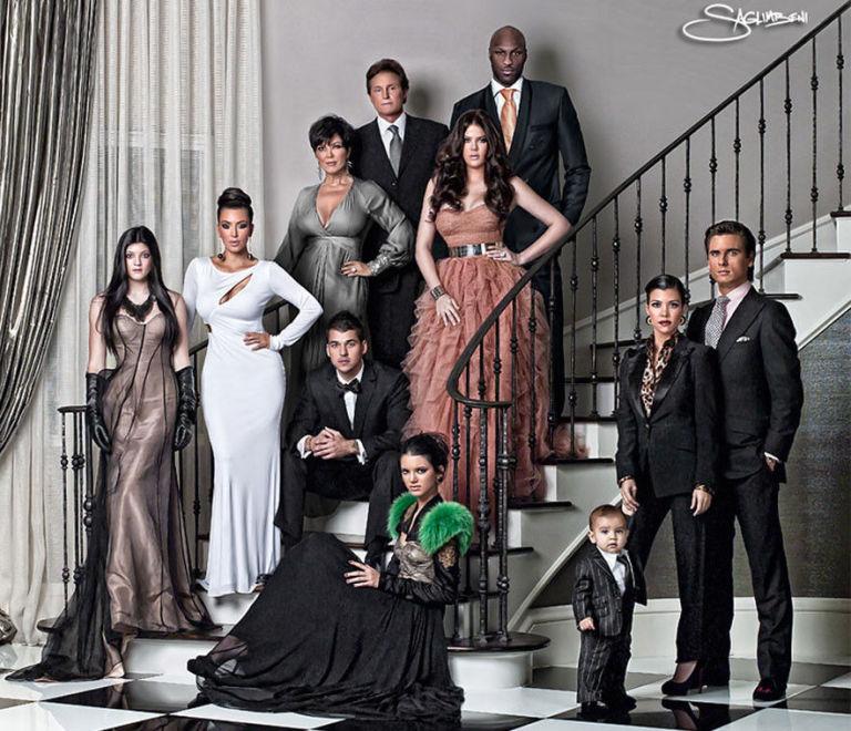 Kardashian Christmas card