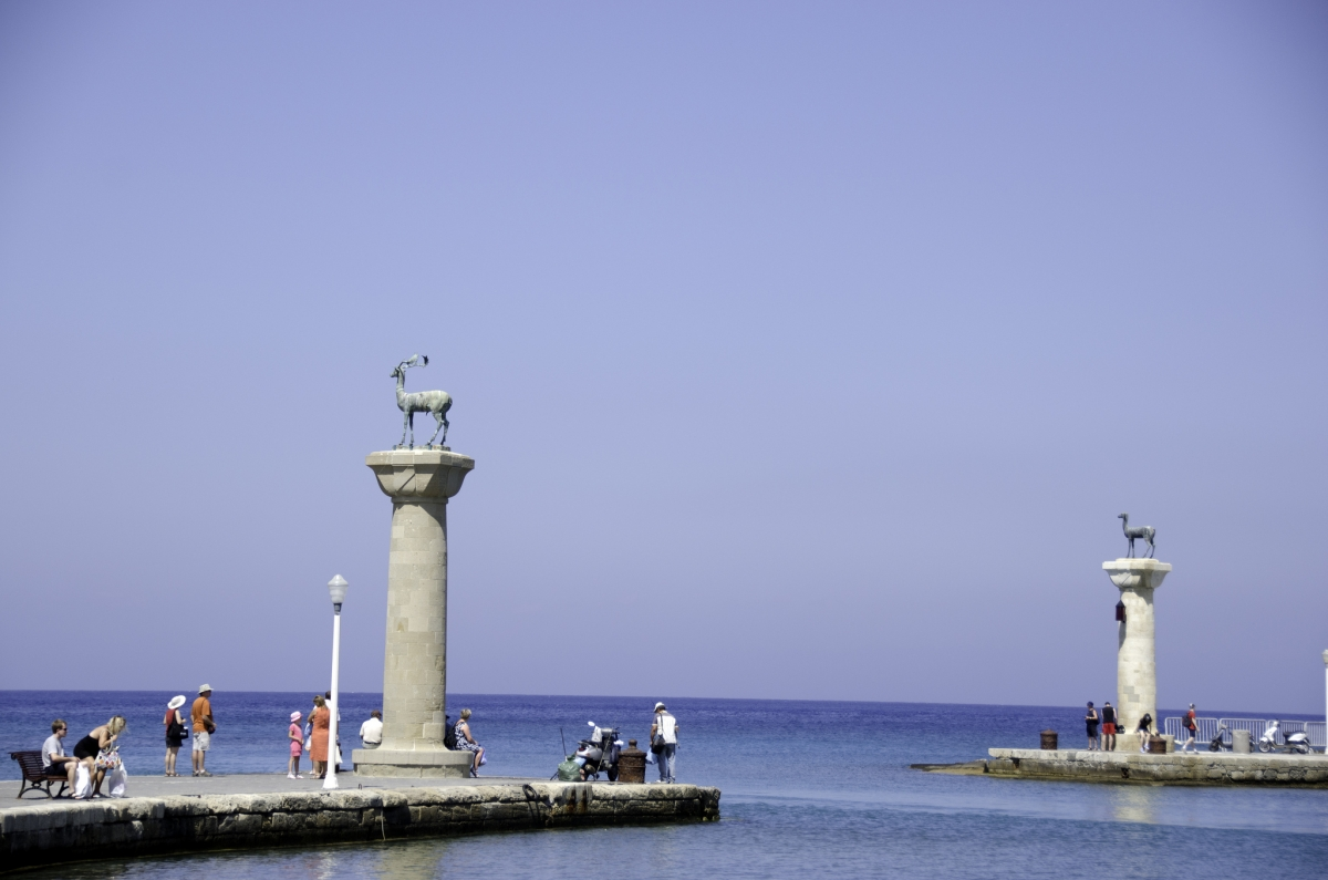 Site of Colossus of Rhodes