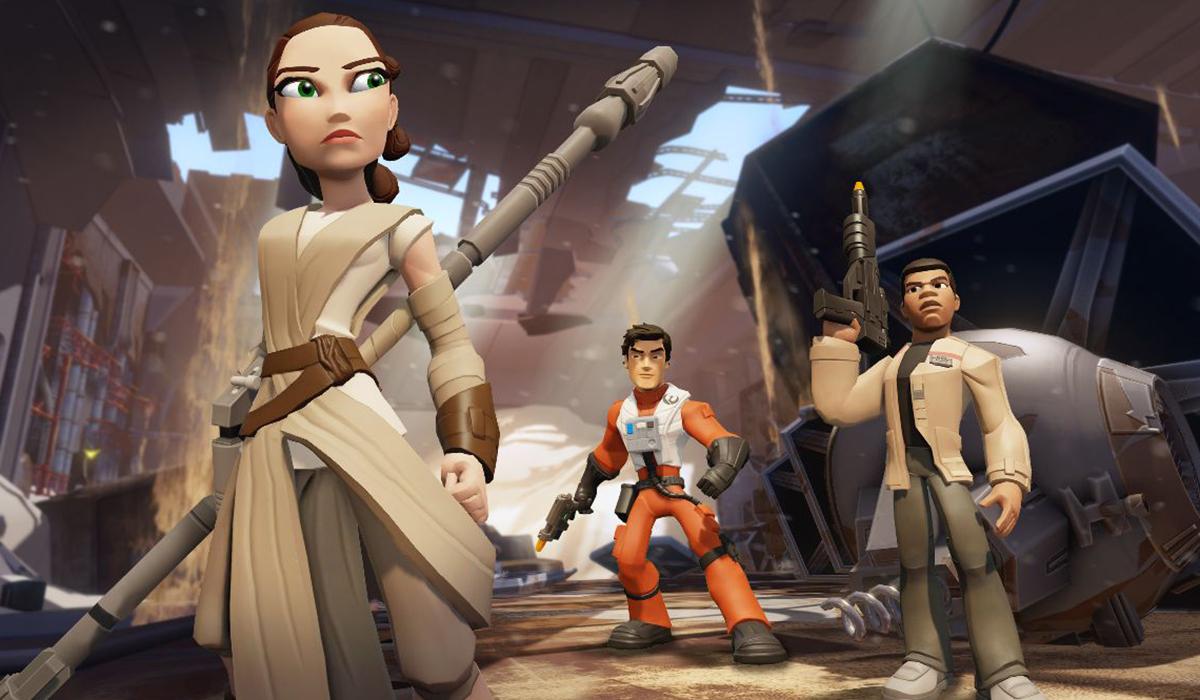 Star Wars Force Awakens Disney Infinity