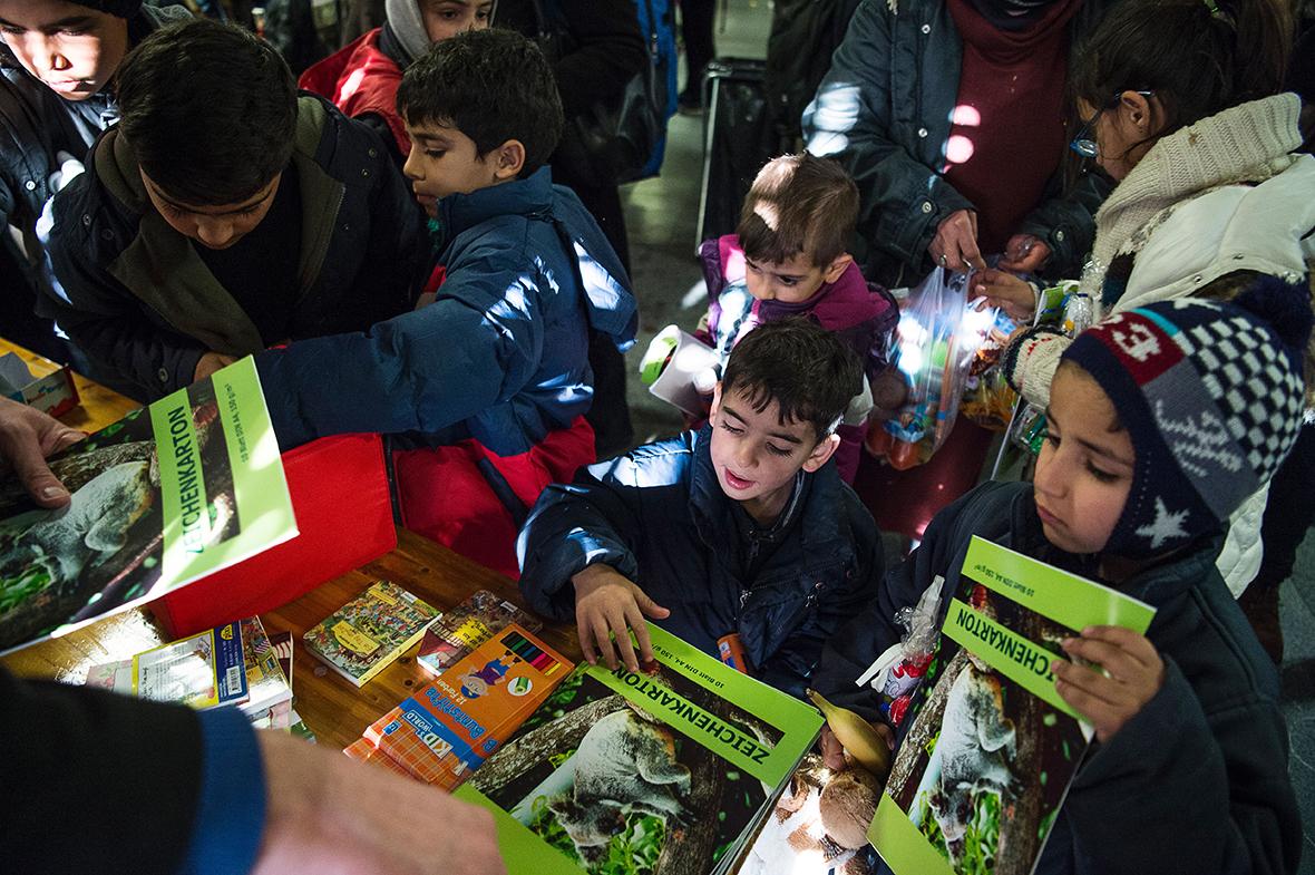 Christmas refugees Germany