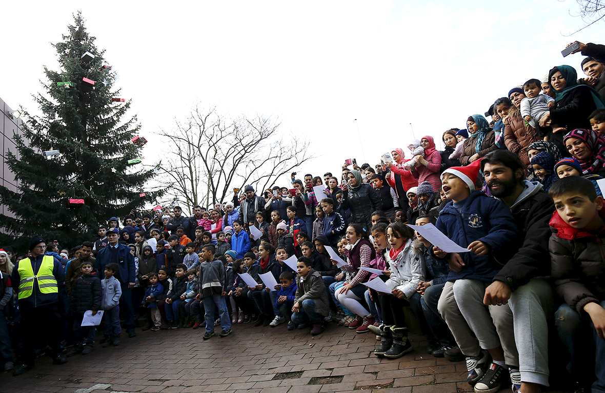 christmas migrants Germany