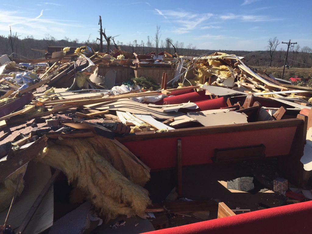 Tornadoes in Mississppi