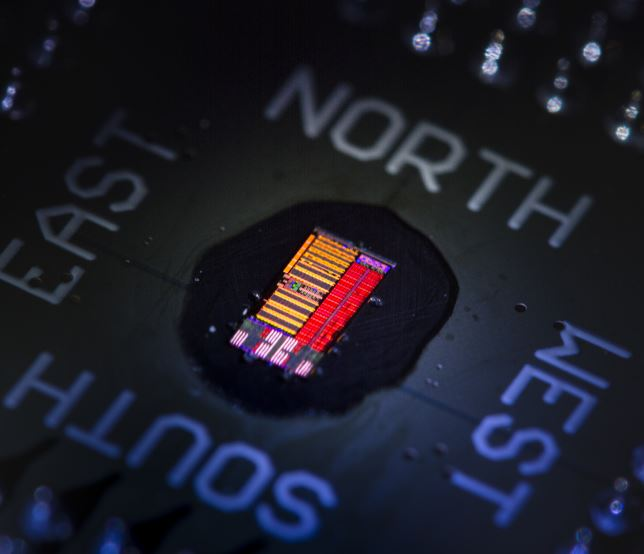 Light-based microprocessor